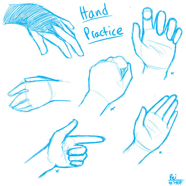 Hand Poses by Saoshi-kun