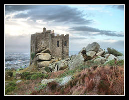 Carn Brea Castle by Pjharps