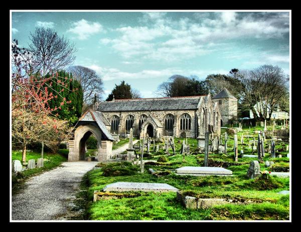 Gwennap Church by Pjharps