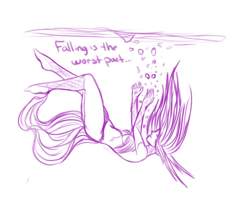 Falling by Dreyma-Vefr
