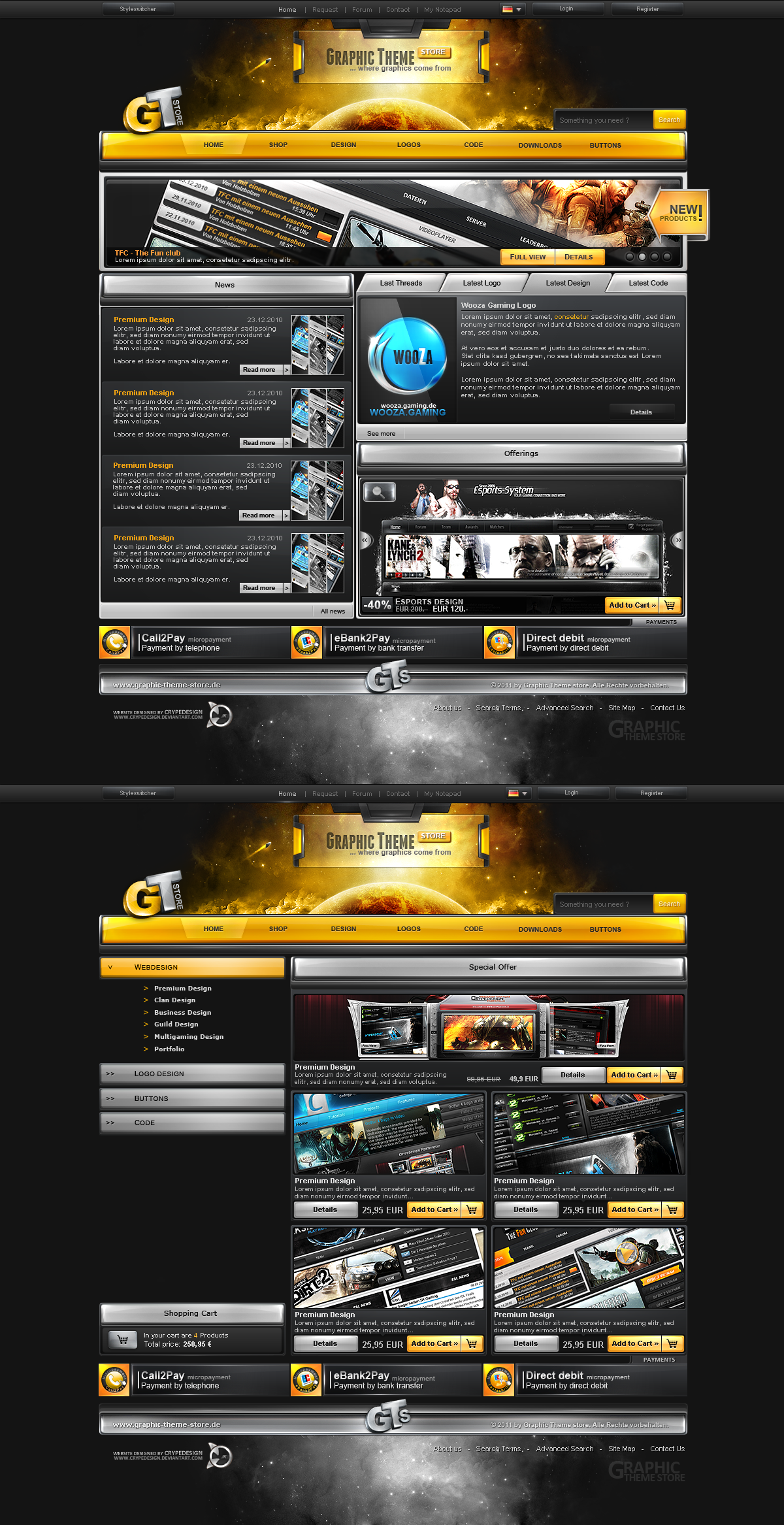 GTS - Grapic Theme store by crYpeDesign