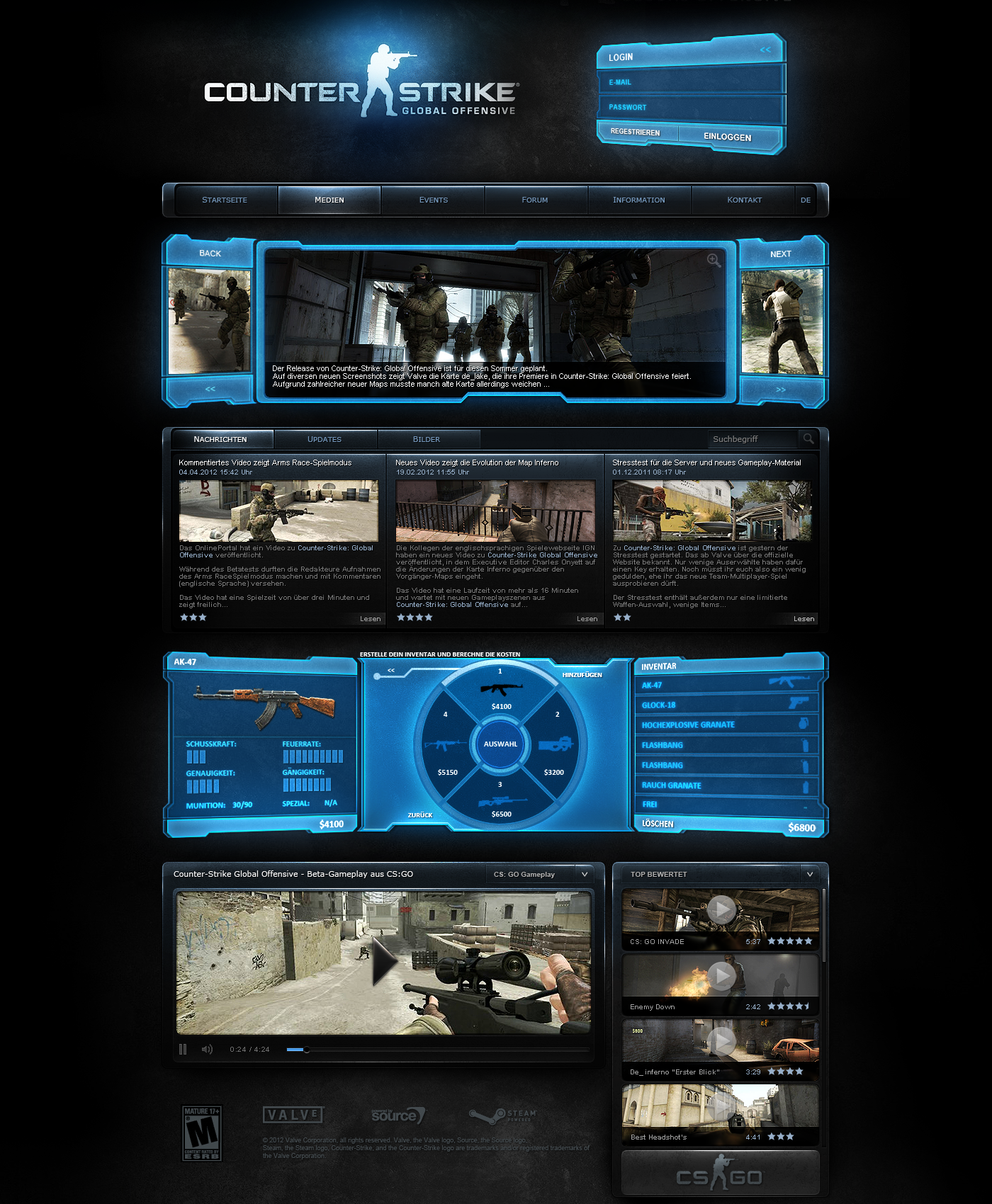 Counter Strike Global Offensive by crYpeDesign