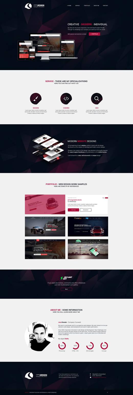 Crypedesign Portfolio 2016 - Online version
