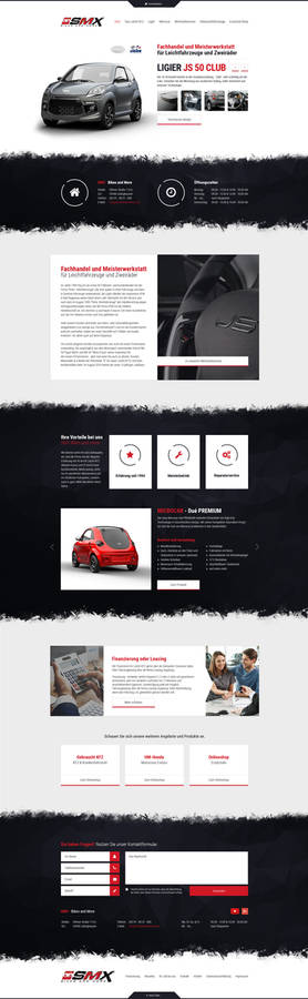 SMX - Bikes and More Webdesign
