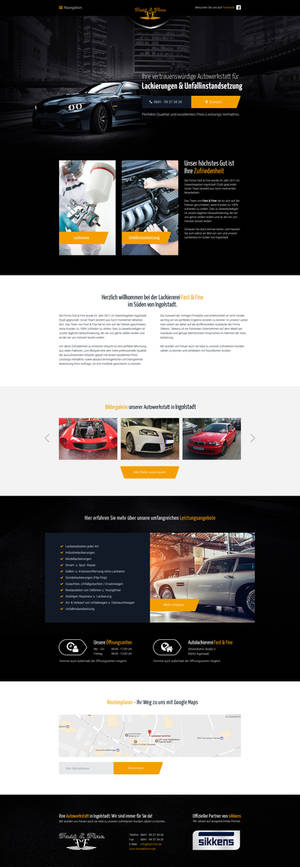 Fast and Fine Webdesign