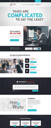 Five Star Tax resolution Webdesign by crYpeDesign