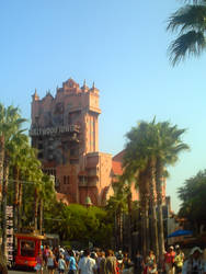 Hollywood Tower of Terror by rainbow224