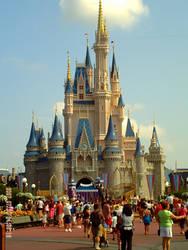 Disney's Cinderella Castle by rainbow224
