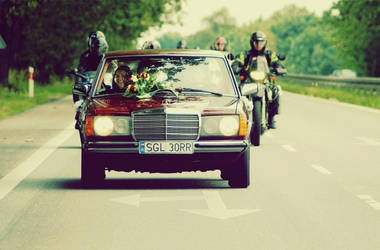 wedding car by firestarterxx