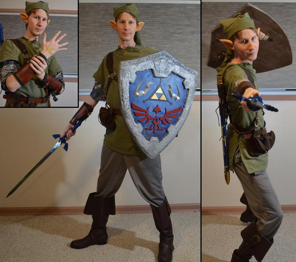 Link Costume by Rarrum