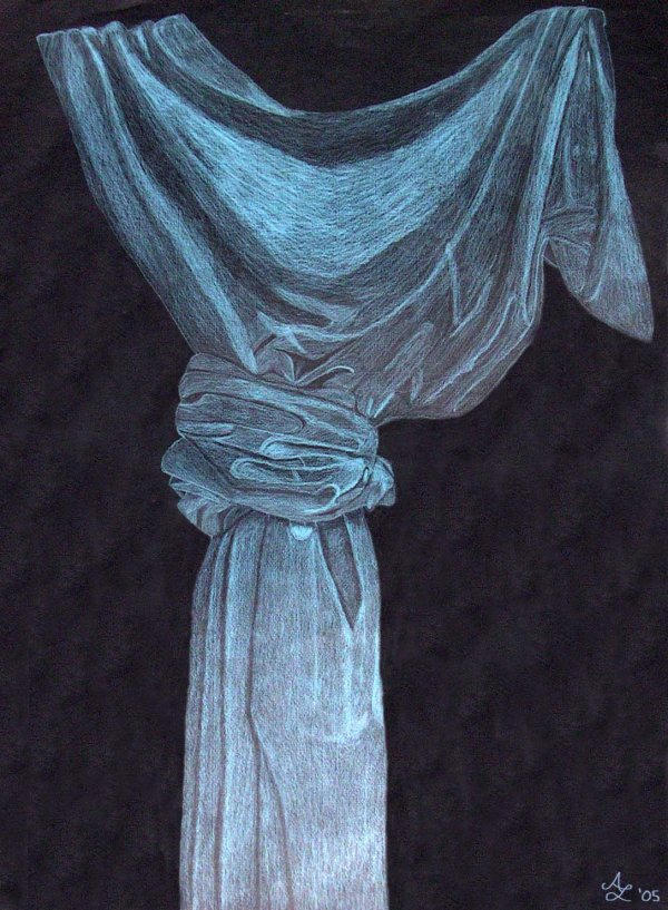 Blue Curtain by Katlover-Aim