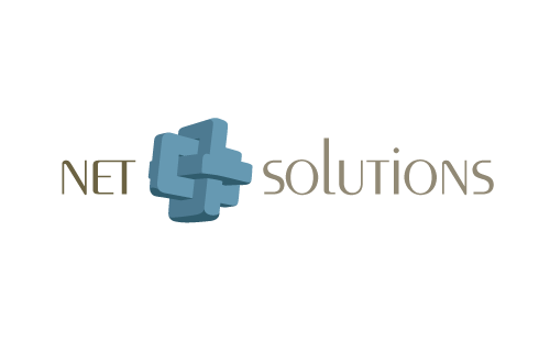 Net-Solutions Logo by marcelljusztin
