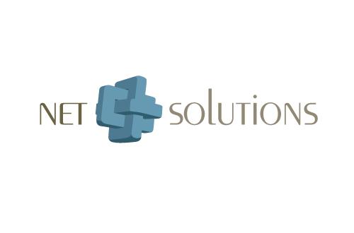 Net-Solutions Logo by marcelljusztin