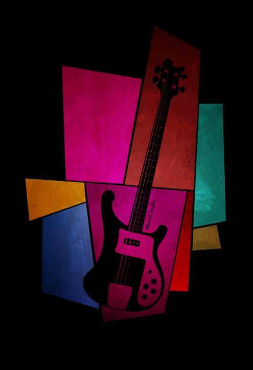 Rickenbacker bass by marcelljusztin