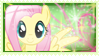 FlutterShy Stamp by ElectricHalo