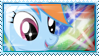 Rainbow Dash Stamp by ElectricHalo