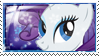 Rarity Stamp by ElectricHalo