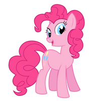 Pinkie Pie Vector by MyHysteria