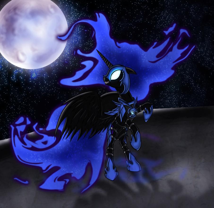 Corrupt Nightmare Moon by ElectricHalo