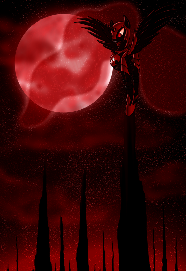 Blood Moon by ElectricHalo