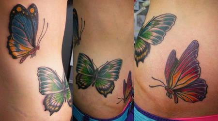 Butterflies II by ZlobnaVe6ti4ka