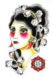 The Garlic Lady by ZlobnaVe6ti4ka