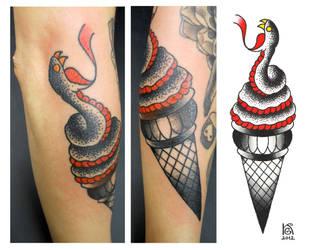 Ice-cream Snake by ZlobnaVe6ti4ka