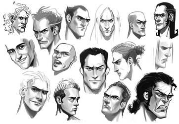 Sketches by Amaena