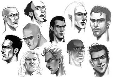 Sketches - 02 by Amaena
