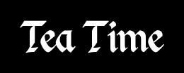 Tea Time: Custom Logo by IcebatofvalikinRRBZ8