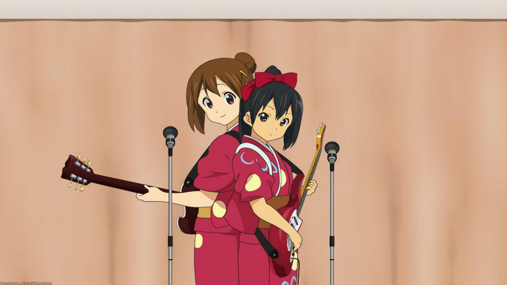 Yui And Azusa Charity Show Thumb by IceBatOfValikinRRBZ8
