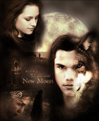 New Moon - poster.blend by SempreVoi