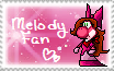 Melody Fan Stamp by YoshiStar01