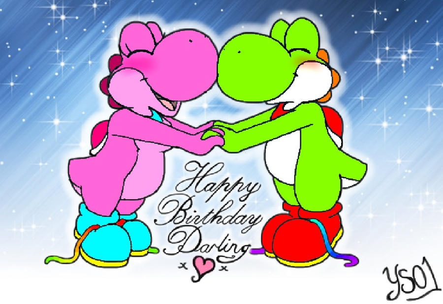 Happy Birthday Darling by