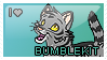 Bumblekit Fan Stamp by therougecat