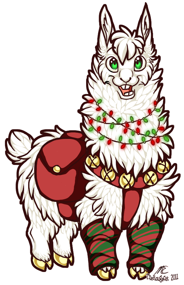 The Tale of the Christmas Alpaca by therougecat on DeviantArt