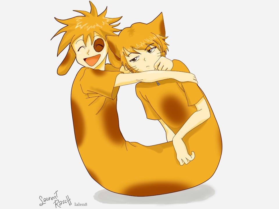 Anime Cat Purr