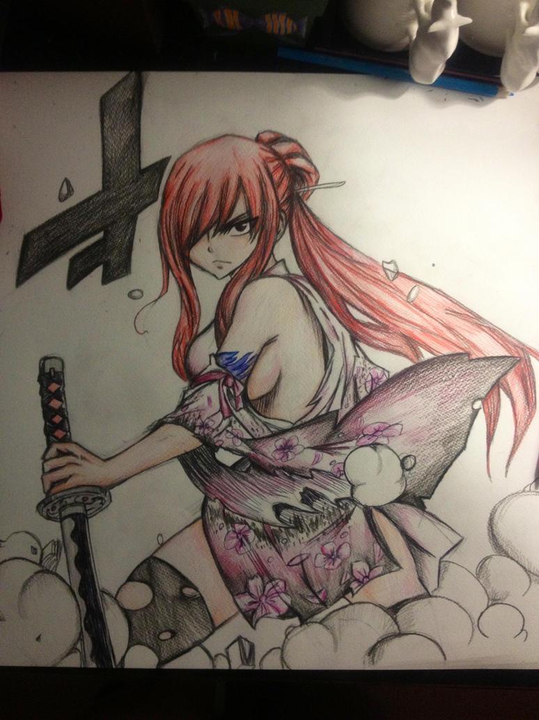 Erza Warrior by IzzyScarlet