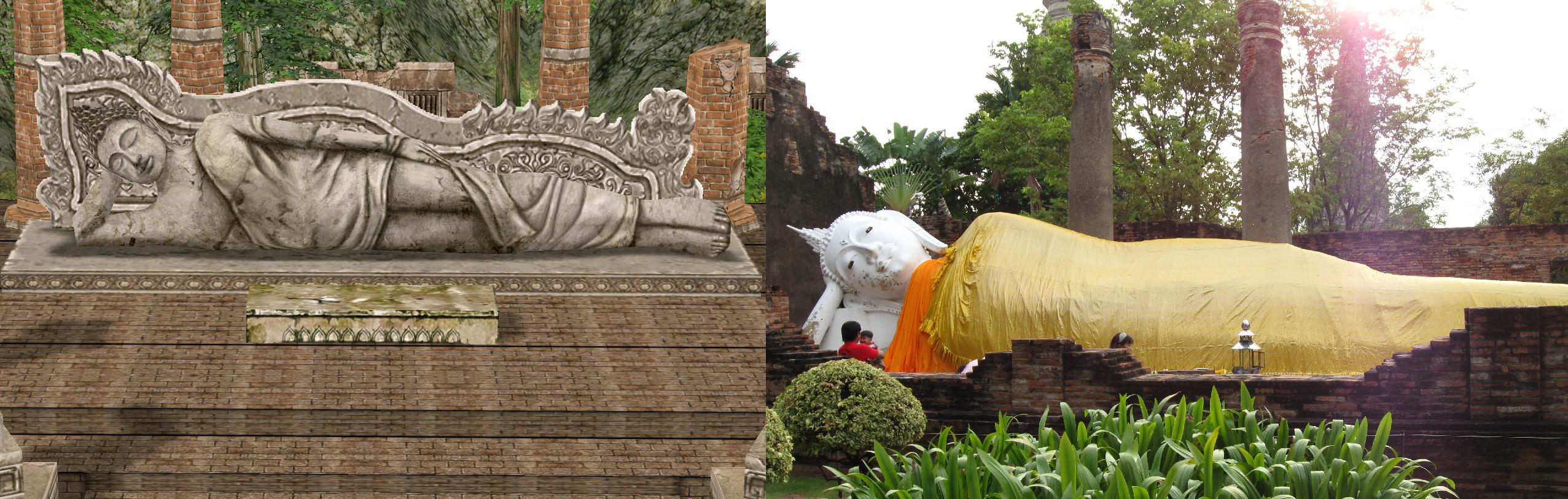 ayothaya_wat_ruins___reclining_buddha_by