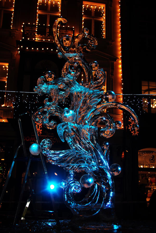 Ice sculpture by Kaja-kgr
