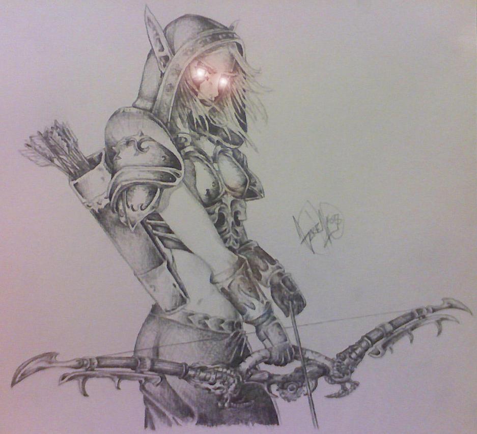 Lady Sylvanas by Darkf0rgd