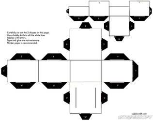 Blank Mushroom Cubee by Shyguy20