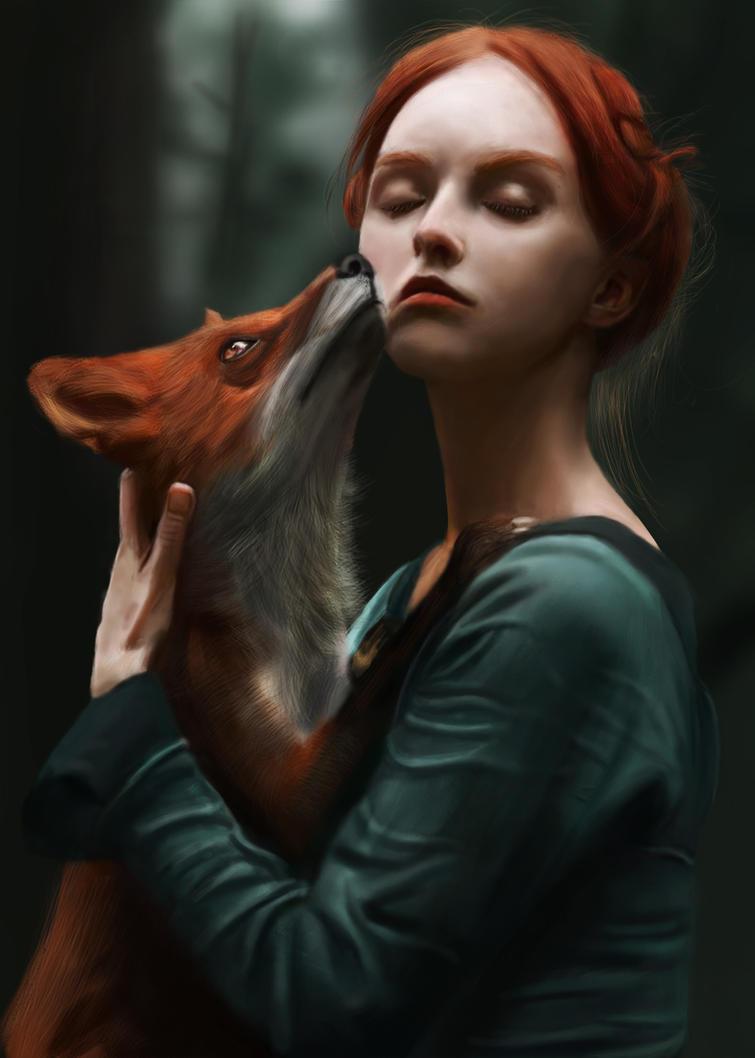 Olga and Alice by Aiman-Alshalali