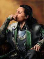 Loki Laufeyson (the king without a kingdom) by Kulibrnda
