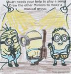Minion Band by TheMushroomMaster