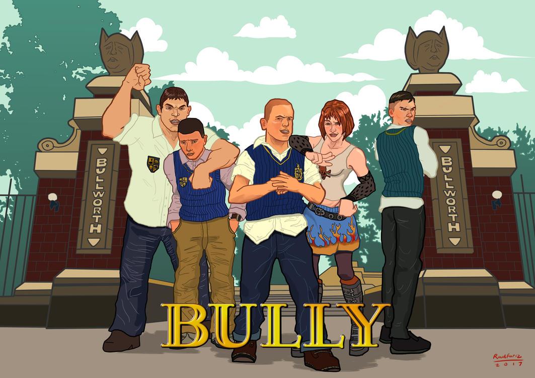 bully game fanart by radfariz on deviantart
