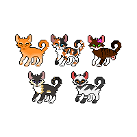 Cat Icons | RavenClan | USD by DesLove