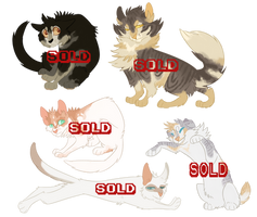 Cat adopts (SOLD OUT) by DesLove