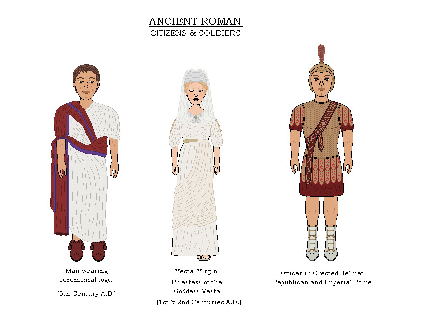 Ancient Roman Costumes 2 by AJBeals on DeviantArt