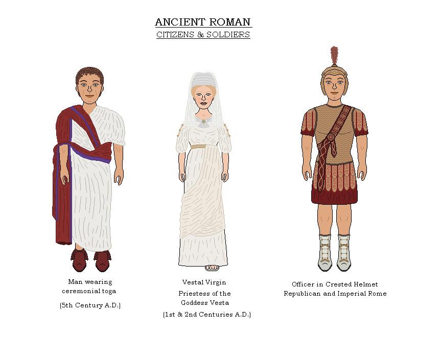 2d056c9680c Ancient Roman Costumes 2 by AJBeals on DeviantArt